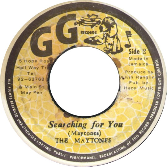 The Maytones - Searching For You