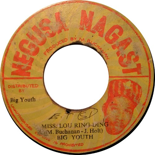Big Youth - Miss Lou Ring-Ding