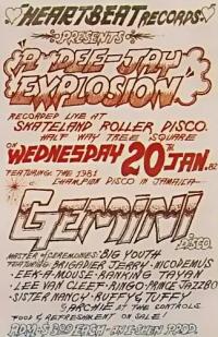 Gemini Disco poster
