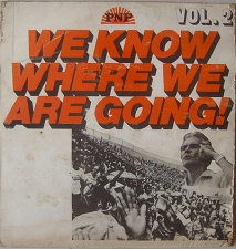 We Know Where We Are Going - PNP LP