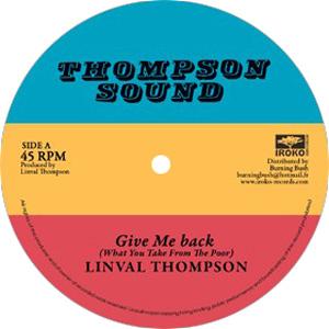 Linval Tompson - Give Me Back