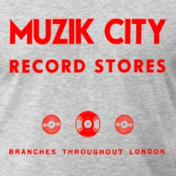 Muzik City - T-Shirt detail