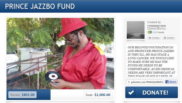 Prince Jazzbo fund
