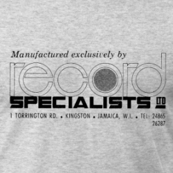 Record Specialists - T-Shirt detail