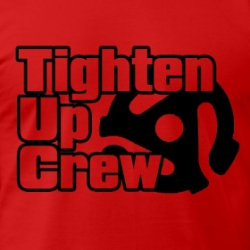Tighten Up Crew - T-Shirt detail