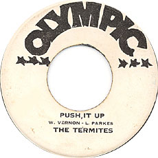The Termites - Push It Up (label)